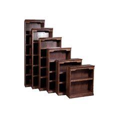 "FD-6105T - Traditional Oak Bookcase 24"" w x 13"" d x 84"" h"