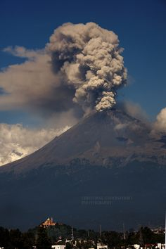 Popocatepetl, Mexico; photo by Cristobal Garciaferro Rubio