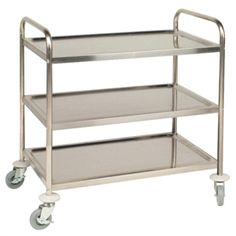 Vogue 3 Tier Clearing Trolley Large