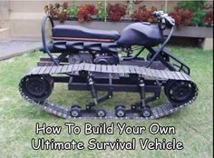 How To Build Your Own Ultimate Survival Vehicle