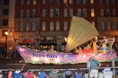 Falun Gong Awarded at Portland Rose Festival Starlight Parade