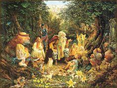 Казкові світи художника Christensen, James С.