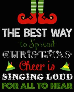 Buddy The Elf Quote Printable Buddy the by LittleGermanBoutique Christmas Quotes, Christmas Elf, Christmas Movies, Christmas And New Year, Christmas Vinyl, Christmas 2016, Christmas Ideas, Christmas Crafts, Christmas Ornaments