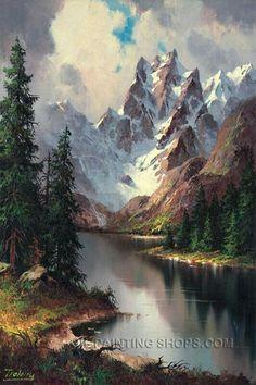 233 meilleures images du tableau Montagnes
