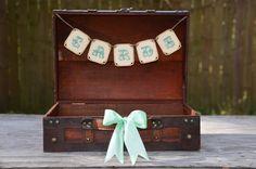 Wedding suitcase card holder, wedding card box, mint wedding, rustic wedding via Etsy Trendy Wedding, Diy Wedding, Rustic Wedding, Wedding Ideas, Wedding Stuff, Wedding Pictures, Wedding Bells, Dream Wedding, Wedding Inspiration