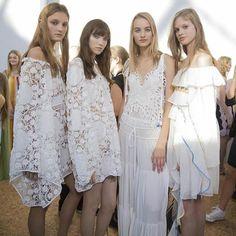 • CHLOÉ • Paris Fashion Week • in love • #pfw #ss2016 #chloe #chloepfw #white #bridesmaids