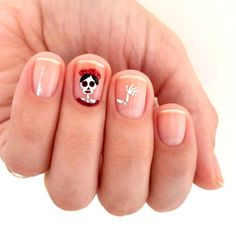 38 Cute Halloween Manicure Nails Ideas for you. Cute Halloween Nails, Halloween Acrylic Nails, Halloween Nail Designs, Halloween 2018, Chic Halloween, Creepy Halloween, Shellac Nails, Nail Manicure, My Nails