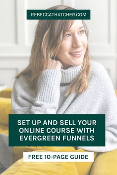 Have you wondered 'what exactly is a sales funnel?'. Put simply, it's a step-by-step process that takes your ideal audience from prospect to customer automatically! Feel-good funnels transformed my business and they can do the same for you too! In my FREE introductory guide, I share my top 5 high-performing funnels that will help you to grow and sell to your list! Get your copy and discover how to turn dream subscribers into customers within minutes! #FunnelsForBusiness #SalesFunnels