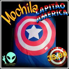 Veja nosso novo produto Mochila Capitão América ! Se gostar, pode nos ajudar pinando-o em algum de seus painéis :)