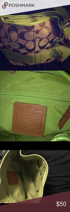 Coach Purse Over the shoulder. Medium sized. Authentic. Lightly used. Coach Bags Shoulder Bags