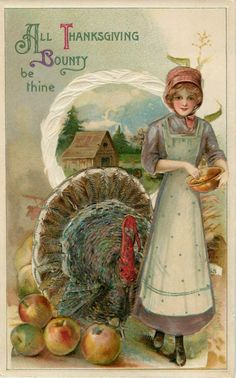 Thanksgiving paper dolls and vintage post cards - Bobe Green - Picasa Web Albums Thanksgiving Blessings, Thanksgiving Greetings, Vintage Thanksgiving, Thanksgiving Traditions, Thanksgiving Crafts, Vintage Holiday, Thanksgiving Decorations, Thanksgiving Graphics, Thanksgiving Sayings