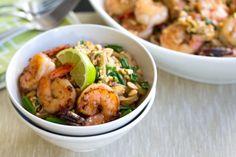 Pad Thai aux crevettes et arachides...laissez-vous tenter !