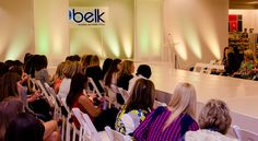 #BelkScene | Belk Department Store's Spring Fashion Show | Raleigh Special Event Catering | Catwalk