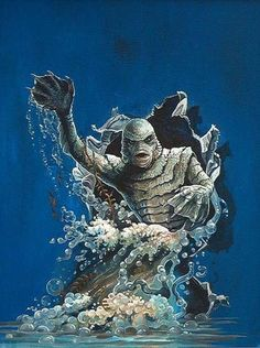 Creature From The Black Lagoon - Art