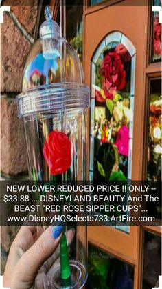 "BUY IT NOW... ONLY -- $33.88 (NEW LOWER REDUCED PRICE) .. (MUCH LOWER THAN EBAY or AMAZON) #1 SELLING CUP IN ""DISNEYLAND"" and ""WALT DISNEY WORLD""... (PLEASE CLICK-ON THE PICTURE TO SEE MORE DETAILS AND PICTURES) ... #DISNEYLAND #WaltDisneyWorld #BeautyAnd"