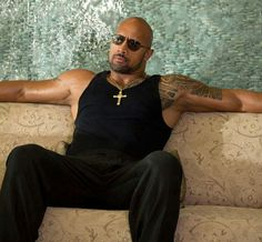 The Rock is waiting on me to come home.  Lol