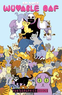 One of my favorite and most anticipated new releases, the complete Wuvable Oaf comic by Ed Luce. Wait until you see our hair-raising special edition!