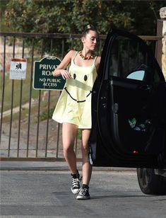 Paparazzi  Miley Cyrus Attending a Private Party in Los Angeles Miley Cyrus  Outfit d053b77d8