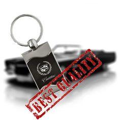 1822793cf01c Cadillac Keychain  amp  Keyring - Black Wave by WholesaleKeychains on Etsy   keychain  wholesalekeychain