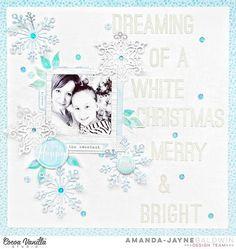 Bohemian Dream-ing of A White Christmas by Amanda Baldwin for Cocoa Vanilla Studio