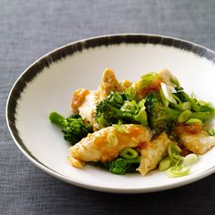 Weight Watchers Garlicky Chicken and Broccoli: 4 Points+