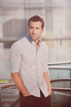 Ryan Reynolds ! Loved him back in the day when he was on Two Guys a Girl and a Pizza Place. :)