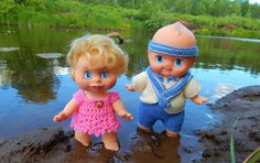 Вязаный домик.: Куклы фотомодели)))