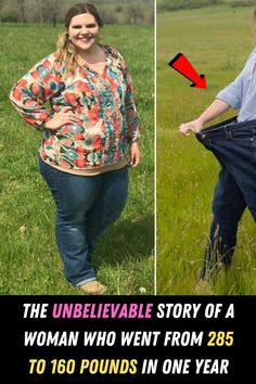 #Unbelievable #Story #Woman #Went #285 #160 #Pounds #One #Year
