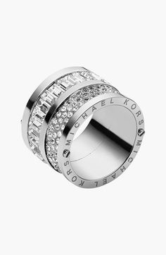 MICHAEL Michael Kors Michael Kors 'Brilliance' Cigar Band Ring available at #Nordstrom