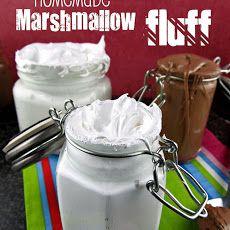 Marshmallows, Marshmallow fluff recipes and Fluff recipe on Pinterest