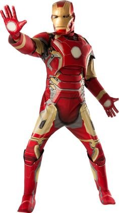 "Avengers 2 - Age of Ultron: Deluxe Iron Man ""Mark 43"" Costume For Men from Buycostumes.com"