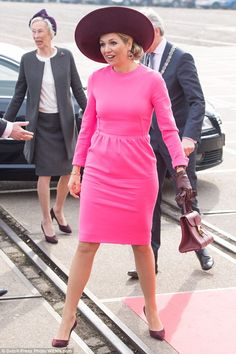 Working mum: March is shaping up to be a busy month for Máxima, who last week hosted the K...
