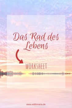 Dieses worksheet findest du in meiner Ressourcen Bibliothek. Ist dein Leben in Balance? Finde es mit dem Rad des Lebens heraus. Intuition, Mental Training, Motivation, Arabic Calligraphy, Fitness, Self Confidence, Self Awareness, Toxic Relationships, Highly Sensitive Person