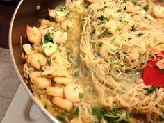 Low Carb Shrimp Scampi w/ Miracle Noodles