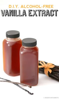 Homemade Alcohol-Free Vanilla Extract recipe - Healthy Dessert Recipes at Desserts with Benefits
