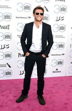 Scott Eastwood at the 2015 Independent Spirit Awards