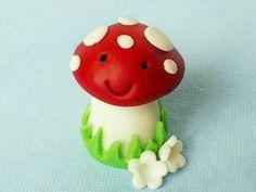 How to Sculpt Clay Mushroom