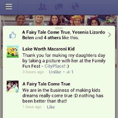 This is why we do what we do! www.AFairytaleComeTrue.com