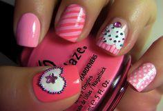 Cupcake fingernails. On it!