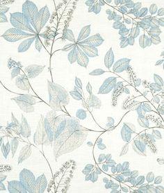 Kaufmann Arboretum Cloud Fabric - by the Yard Drapery Fabric, Fabric Decor, Linen Fabric, Tapete Floral, Cloud Fabric, Ocean Fabric, Greenhouse Fabrics, Illustration Blume, Ideias Diy
