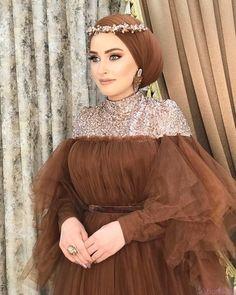 Hijab Evening Dress, Hijab Dress Party, Hijab Wedding Dresses, Indian Gowns Dresses, Sequin Party Dress, Evening Outfits, Party Wear Dresses, Modest Fashion Hijab, Fashion Dresses