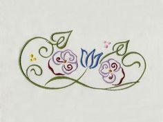 Decorative Flower Embellishments Machine Embroidery Designs  http://www.designsbysick.com/details/decoflower