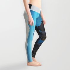Mountains Breathe Too Leggings by Mixed Imagery | Society6