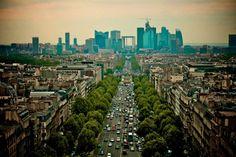 stunning paris france   Paris France Skyline by EREZ MAROM