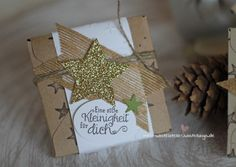 Schokolade süße Kleinigkeit weihnachtlich verpackt Stampin Up