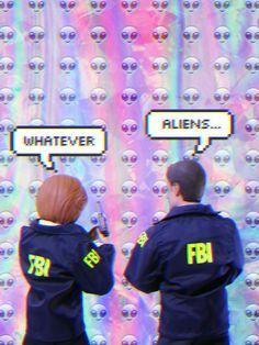 Whatever #xfiles #mulder #scully #fbi #alien #graphic #grunge #softgrunge #pale #dark #ahsheegrek