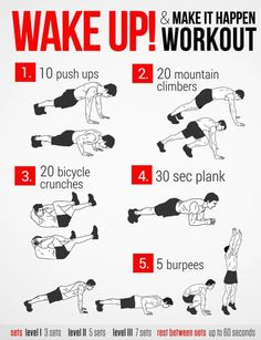 Workout for a better you