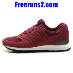 New Balance MS574ZF Sonic wine rouge Noir Chaussures Hommes Cheap New  Balance, New Balance 574 0b9f2cd53093
