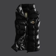 d91373ee5a8e Moncler 2012 Style Womens Down Vest Fully Black  2900214  - £153.69   Vest