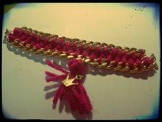 handmade bracelet. . .